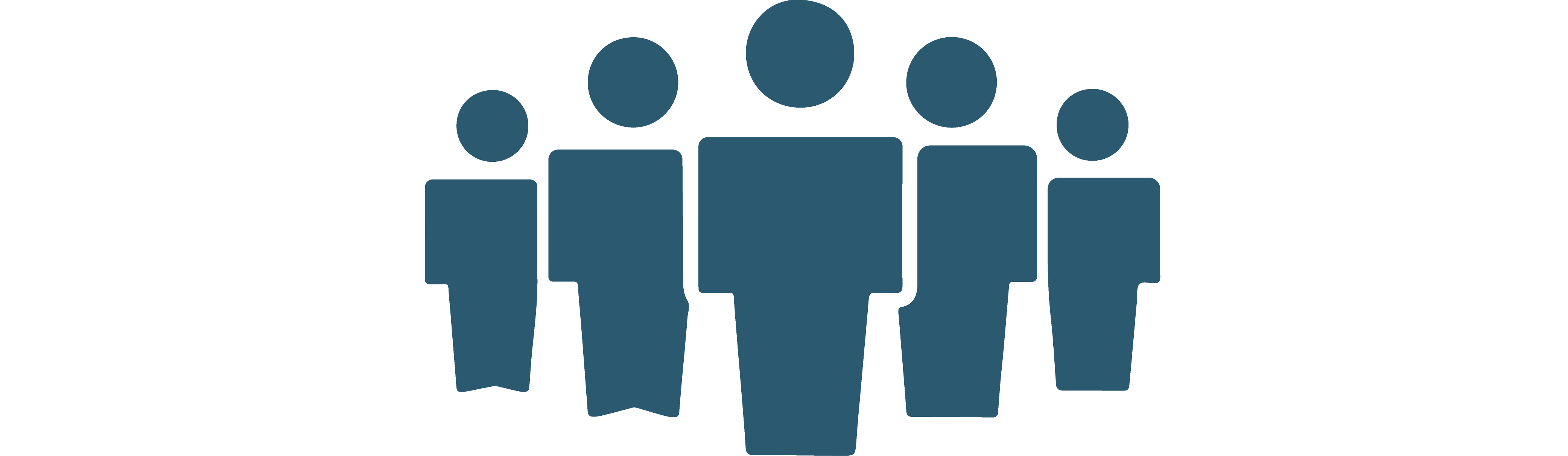 Clipart of group of people standing together